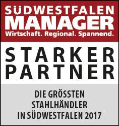 Südwestfahlen Manager - Wirtschaft. Regional. Spannend. STARKER PARTNER - Die größten Stahlhändler in Südwestfahlen 2017
